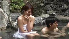 Japanese girls hot spring real sex and porn