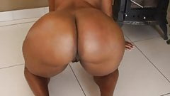 big black woman shaking