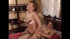 HOT MOM n145 brunette mature milf and a young man