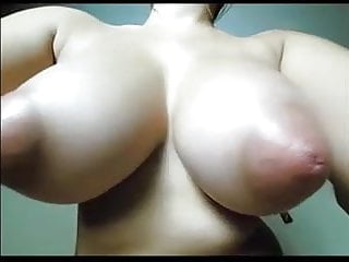 Interesting Tits on Webcam (Torpedo Tits)