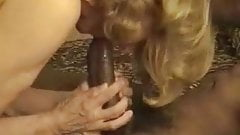 Mature it`s very HOT wife takes creampie from her black bull