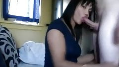Sexy ass tranny sucks and fucks!!!