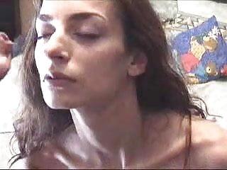 Greek girl receives huge facial