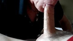 This cocksucker loves my dick