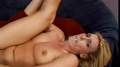Hot Blonde MILF Smoking BJ Bang and Assfucked