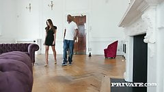 Private.com - Clea Gaultier Pussy Butt & Mouth Fucked By BBC
