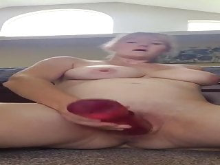 Whore Wife J and her Dildo