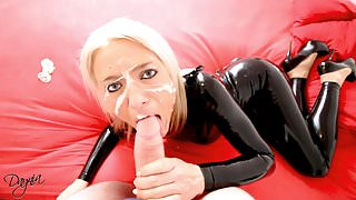 My Dirty Hobby - Latex slut on fuck rampage