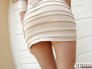 All Internal Shy sexy blonde has ass fucked and packed with