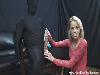 little blonde dominates large white penis
