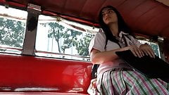 Senior High Boso Upskirt Teen