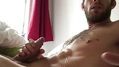 STRAIGHT AUSTRIAN STUD INCREDIBLE CUMSHOT ON HARD BODY