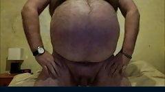 Sexy bear show his body