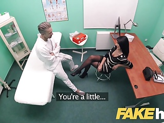 Fake Hospital Big tits Polish babe loves swallowing cum