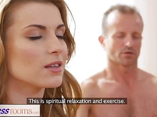Download video bokep FitnessRooms Dirty yoga teacher on gorgeous fitness model Mp4 terbaru