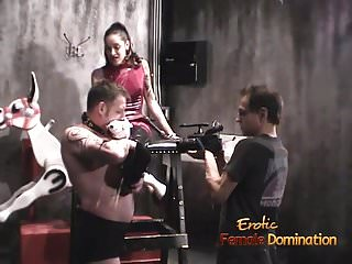 Turned on stallion goofs around with two hot pornstars in th