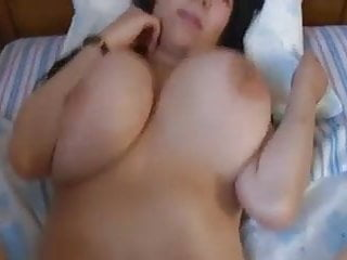 Asian girl with big tits plowed