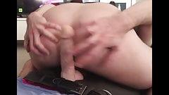 My big butt takes a pounding