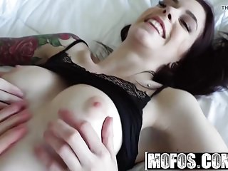 Mofos - Lets Try Anal - Tattooed Cutie has Morning Anal Sex