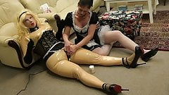 The Sissymaid play with Erica