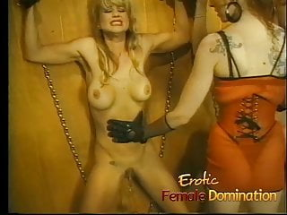 Mistress makes her sexy busty slave girls scream in pain