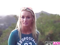 Hiking teen Emily Austin gets drilled