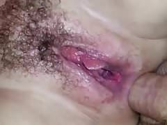 Mature hairy fucked cunt, anal and squirting! Amateur!