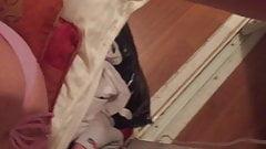 Humping pillows hidden in my closet