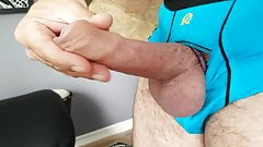 Jerking my cock with big cumshot
