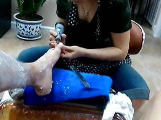 Pedicure Dick Flash Soft Cum