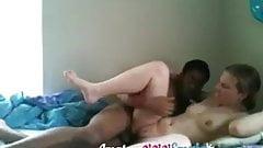 Teen fucked by black boyfriend