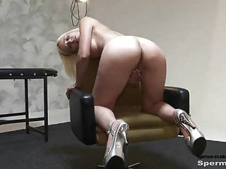 SpermastudioP1+2 Kinky Blonde Gets Multiple Facials
