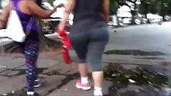 BBW Ass in Spandex Rio de Janeiro Brazil