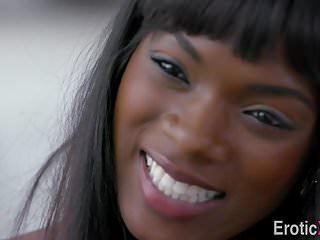 Black beauty gets cumshot