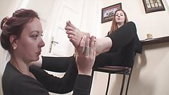 Foot bitch and mistress. Again