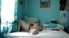 woman masturbating on camera