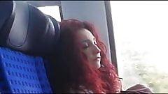 Cock flashing in train's Thumb