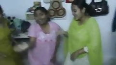 Bangladeshi Hostel Girl Dancing