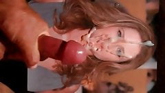 Jenna Fischer Gets A Lot Of Cum On Her Face!