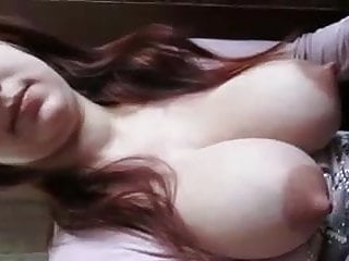 Amateur girl friend boobs flash