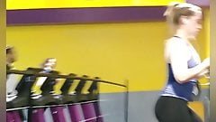 American girl petite white girl. Nice tight ass at the gym