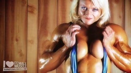 Short blonde naked mature milf