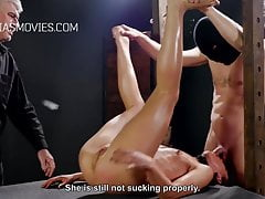 Cunt whipping for young model's Thumb