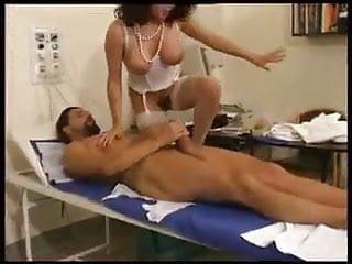 Pretty Milf Doctor fucks big cock Patient