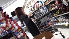 candid - supermarket CUTIE with a BOOTY COMPILATION