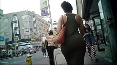 Madura Candid Dominican Huge Booty In Dress