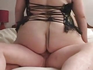 Fatty With Giant Tits Sucking And Fucking
