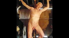 Slave crucified as a corrective punishment