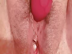 Dildo play and multiple cums