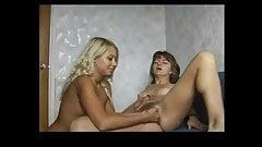 Anna and Lena Lesbian - 1